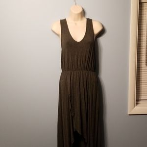 Soft Flowy High Low Summer Dress